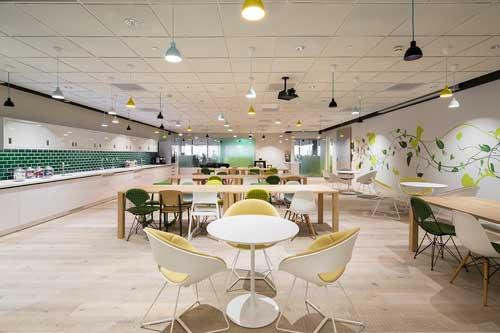 Create Interior Design at international consulting firm