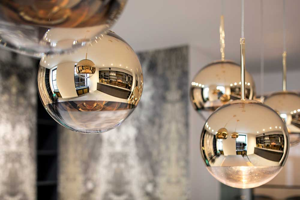 boutique workplace company elegant lighting soho square