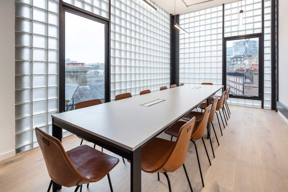notcutt house board room with large windows for amazing views