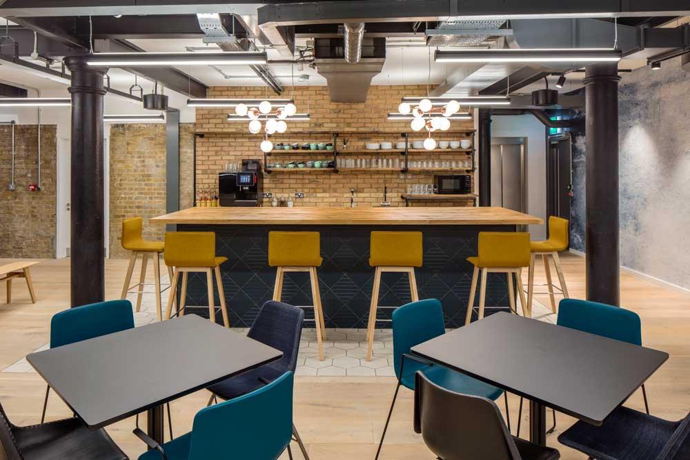 notcutt house cafeteria area redesigned facilities area uk