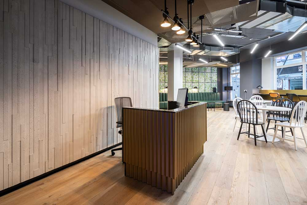 create interior design project at Carter Lane London