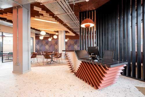 commercial interior design boutique saunders house